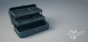 Fish for Life blog renderings with vray of tackle box