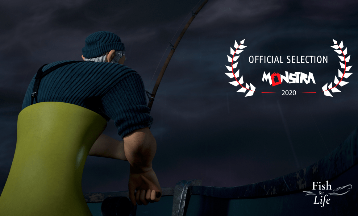 Official Selection at MONSTRA 2020 - Fish for Life