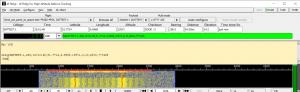Gedecodeerd HAB signaal in dl-fldigi