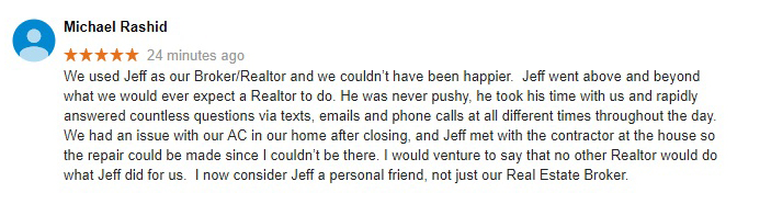 FishHawk Real Estate Testimonial