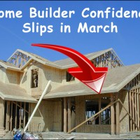 New Home Construction Slips in March