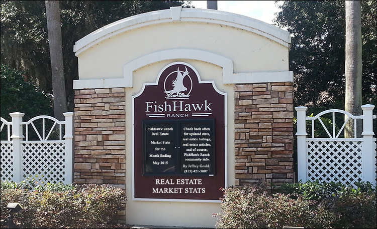 FishHawk Ranch Real Estate Market Stats For Month Ending May 2015