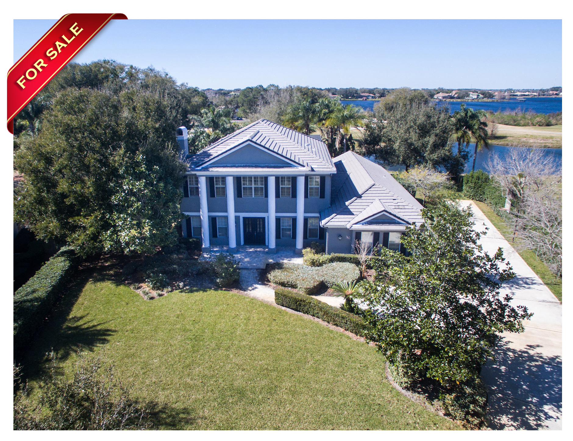 Gorgeous Private Pool Golf Course Home In Windermere For Sale