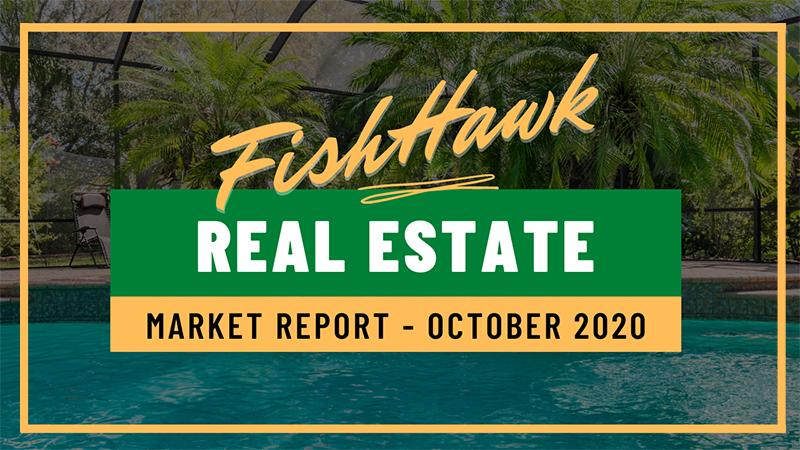 FishHawk Real Estate Market Stats October 2020