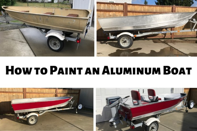 How To Easily Paint An Aluminum Boat With Pictures Fishing Duo