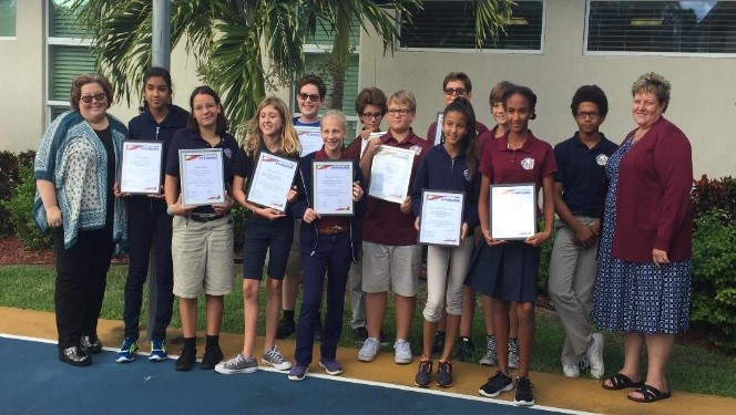 Exchange Club for Students, Excel Club at Sebastian Charter Junior High