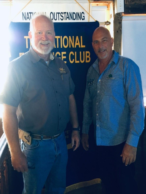 Triton Submarins, Gues speaker at Exchange Club of Sebastian