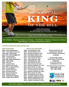 Youth Guidance King of the Hill Tournament