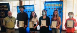 March students of the month, sebastian exchange