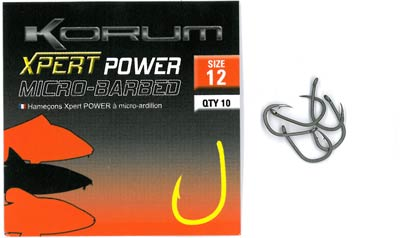 Ami KORUM Xpert POWER Micro Barbed con occhiello
