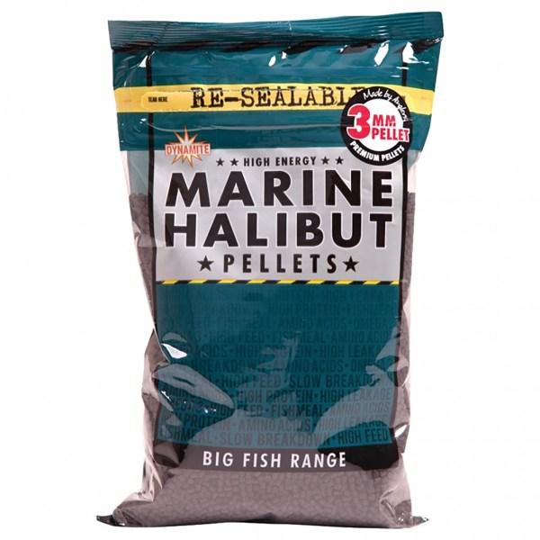 Pellet DYNAMITE Marine Halibut  8mm (900gr)