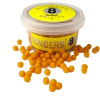 Boilies Yellow Shellfish affondanti 8 mm RINGERS - 100 gr