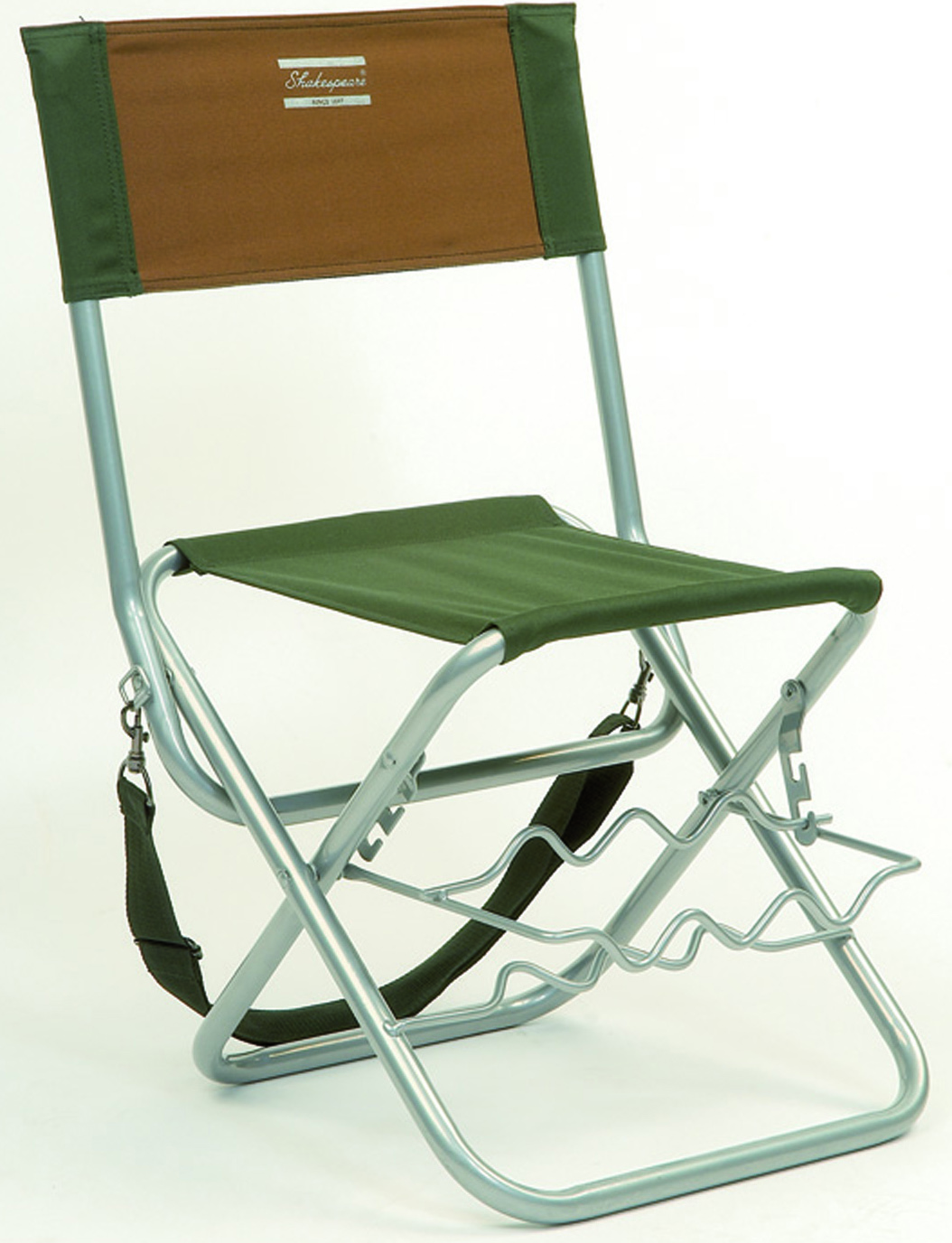 fishing chairs folding picnic shakespeare chair with rod rest  glasgow angling