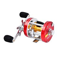 KastKing Rover Round Baitcasting Reel - No. 1 Rated Conventional Reel - Carbon Fiber Star Drag - Reinforced Metal Body & - 2016 New Release Rover RXA Conventional Reel Inshore and Offshore Saltwater and Freshwater Reel - Award Winning Manufacturer