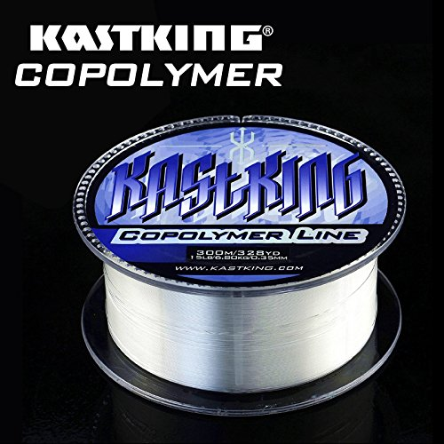 KastKing World's Premier Copolymer Fishing Line Great Upgrade For Monofilament Fishing Line Substitute For Fluorocarbon Fishing Line Advanced Mono Leader Material 300M/330 Yards