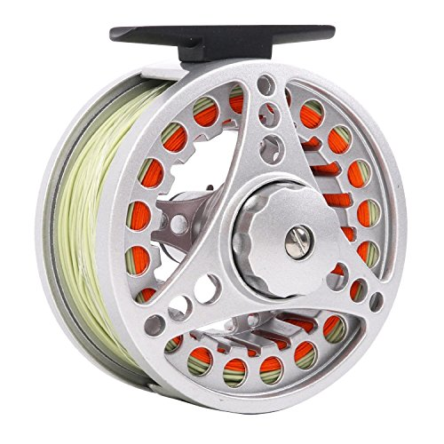 Maxcatch BLC Fly Reel Pre-loaded with Fly Line Diecast Aluminum Body (5/6wt 7/8wt)
