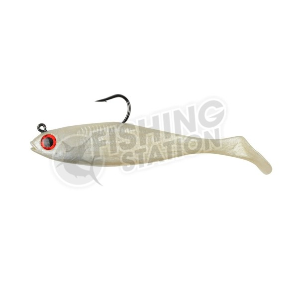 Berkley Powerbait Pre-Rigged Swim Shad Pearl Red