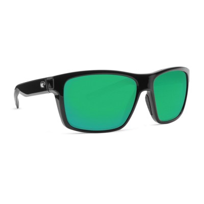 Costa Slack Tide Shiny Black Green Mirror Main