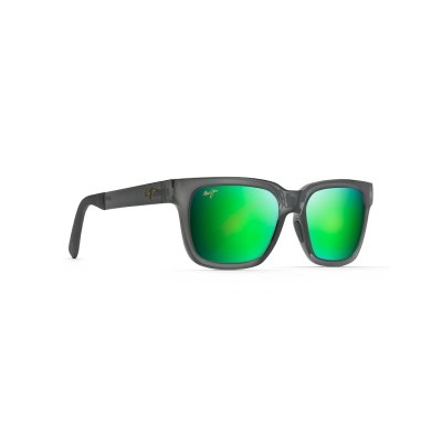 Maui Jim Mongoose Translucent Grey Left Side