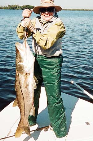 Snook from Everglades Fishing Charter in Everglades National Park