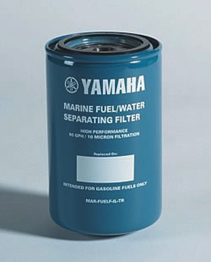 hight resolution of new and improved 10 micron water separating fuel filter that will work on all outboard applications