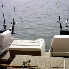 Fishing Chair Setup Leather Tub Chairs Lake George With Lockhart Guide Service In The