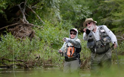 Tips On Casting In The Wind In Tight Quarters — An On-Stream Interview With Roger Butler from Red Tag Trout Tours