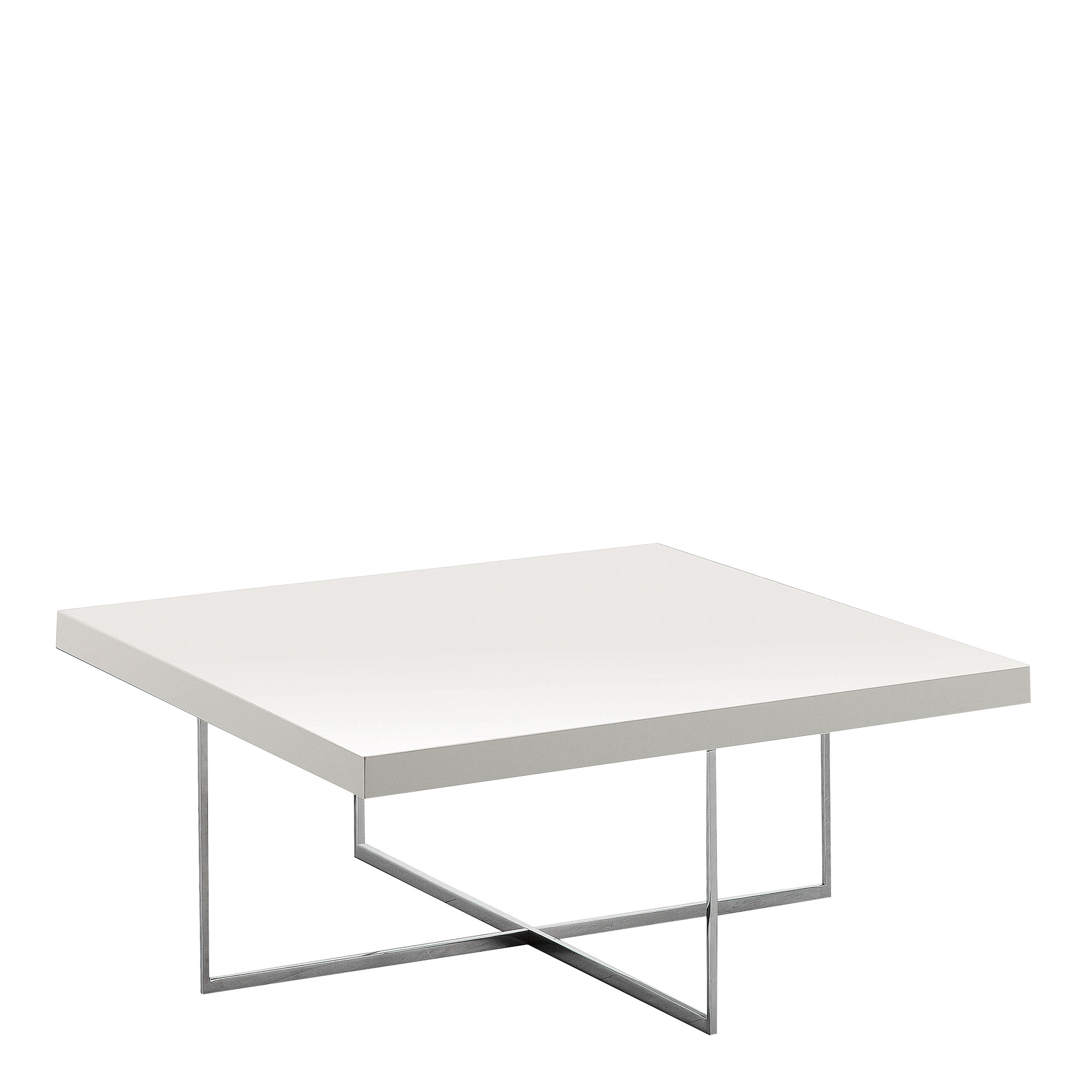bernini square coffee table white high gloss