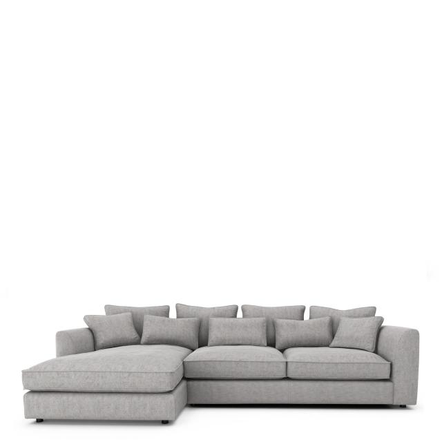 cirrus large chaise sofa lhf