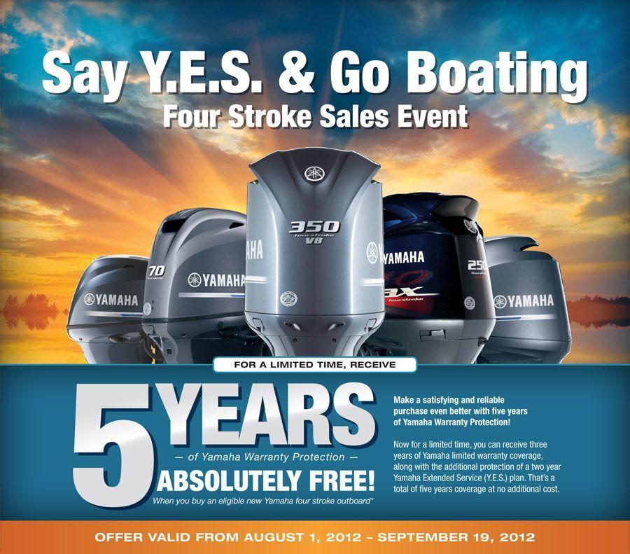 Yamaha Outboard Warranty Promotion