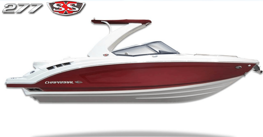 Sneak peek at the chaparral 277 ssx fish tale boats fort for Fish tale boats