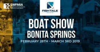 Fish Tale Boats At The 2019 Bonita Springs Boat Show