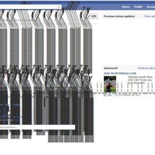 4.57 Glitchr na Facebooku.
