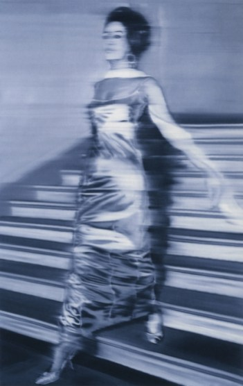 4.73 Gerhard Richter - Woman Descending the Staircase (1965), olej na plátně
