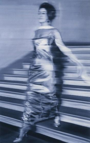 4.73 Gerhard Richter - Woman Descending the Staircase (1965), olej na plátně
