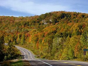Bergland Michigan Fall Color Tour Watersmeet Ontonagon