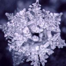 Bellissimo cristallo fotografato da Emoto