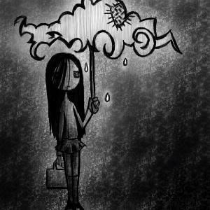 Vivere in un mare di voci negative.