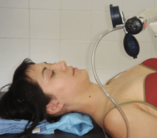 cranio-cervical flexion test