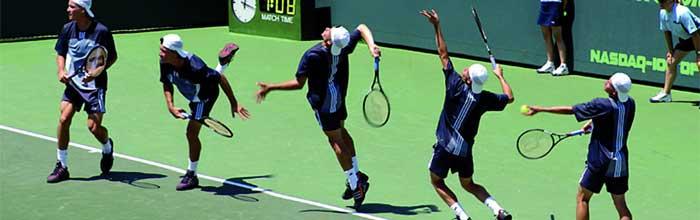 Analisi della trasmissione delle forze durante il servizio nel tennis