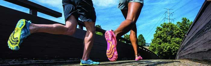 Effetti delle scarpe e della cadenza sullo stress articolare femororotuleo