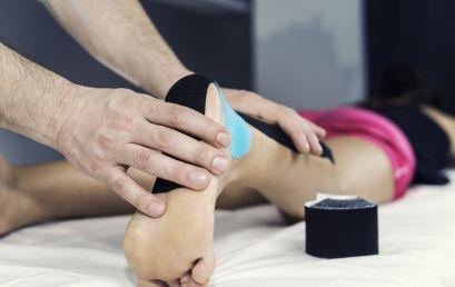 Il Kinesio Tape non migliora la funzionalità di caviglia
