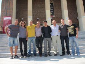 los doctorandos de la EPI en grupo