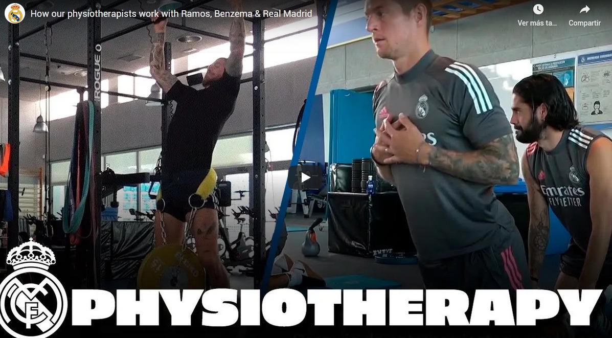 fisiomuro-trabajo con fisioterapeutas desde el Real madrid de fútbol