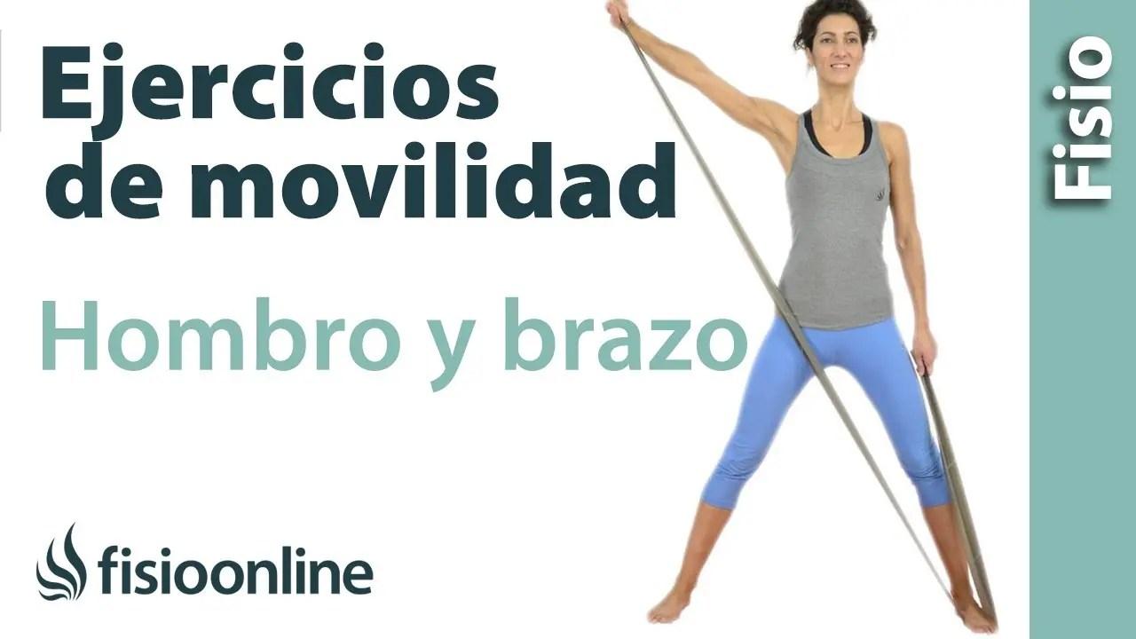 Ejercicios y movilizaciones de hombro y brazo | FisioOnline
