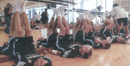 Real Madrid Physiotherapy fisioterapia