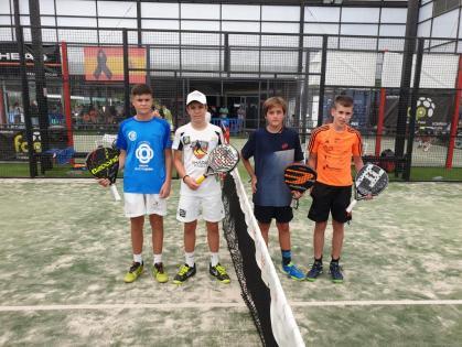 fisioterapialinares-4º Prueba de Pádel del circuito andaluz de menores tenemos campeones