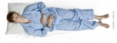 Posizione corretta per dormire bene anche in gravidanza