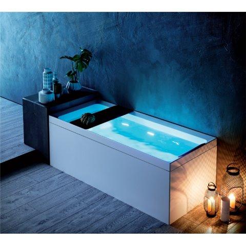 divina 35 hydro plus baignoire balneo avec chassis 160x70