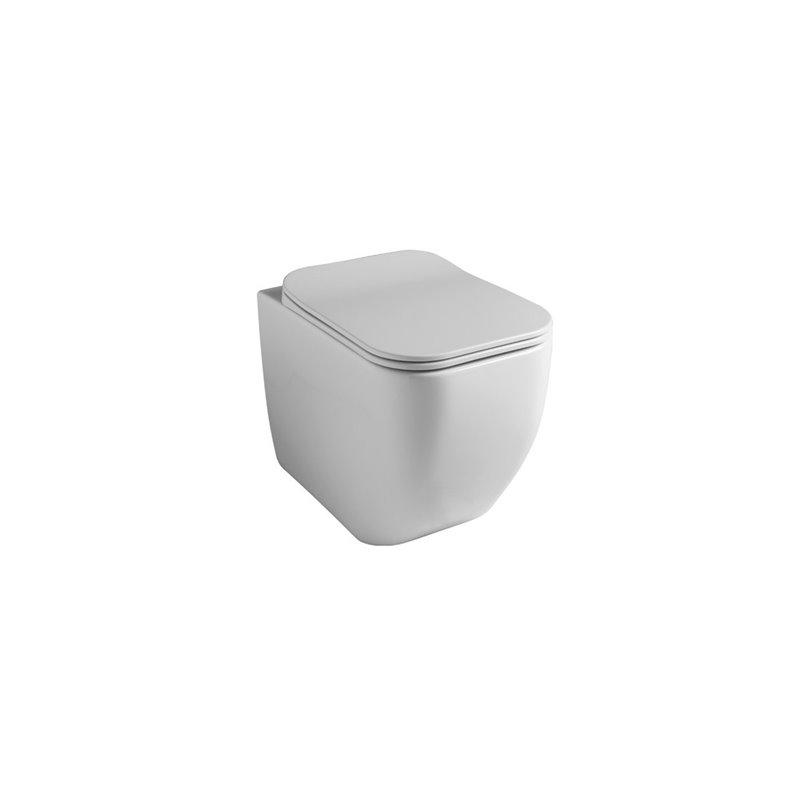 gsg brio wc s bride a terre avec abattant slim softclose fissore